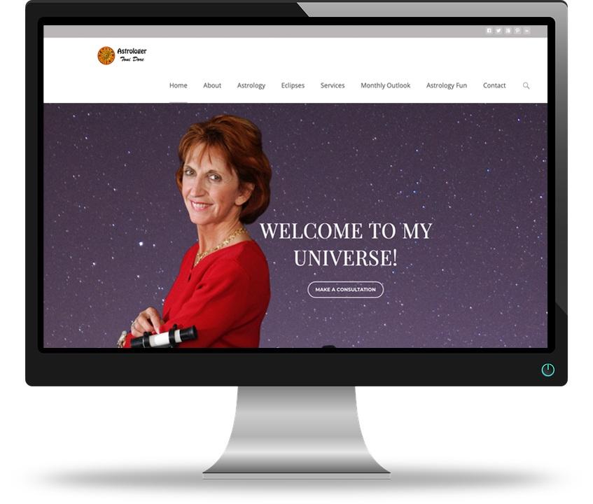 Toni Dore Astrologer Web Design Besavant