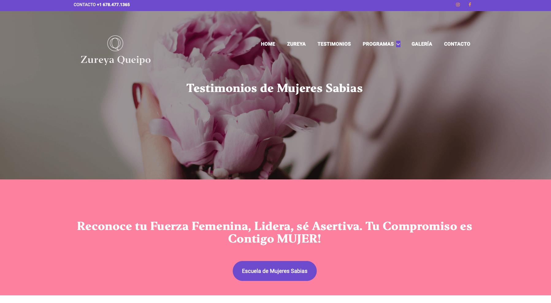 Zureya Queipo Mujeres Sabias
